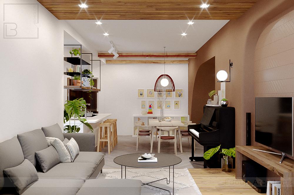 thiết kế nội thất chung cư tại Hồ Chí Minh Tropic Garden Apartment 7 1569316950