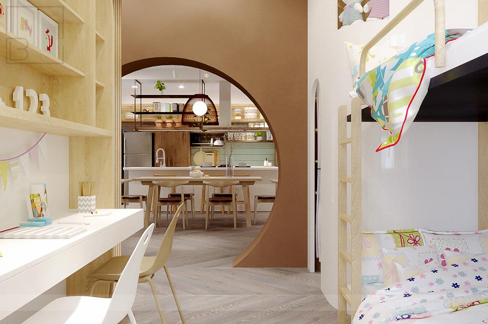 thiết kế nội thất chung cư tại Hồ Chí Minh Tropic Garden Apartment 9 1569316950