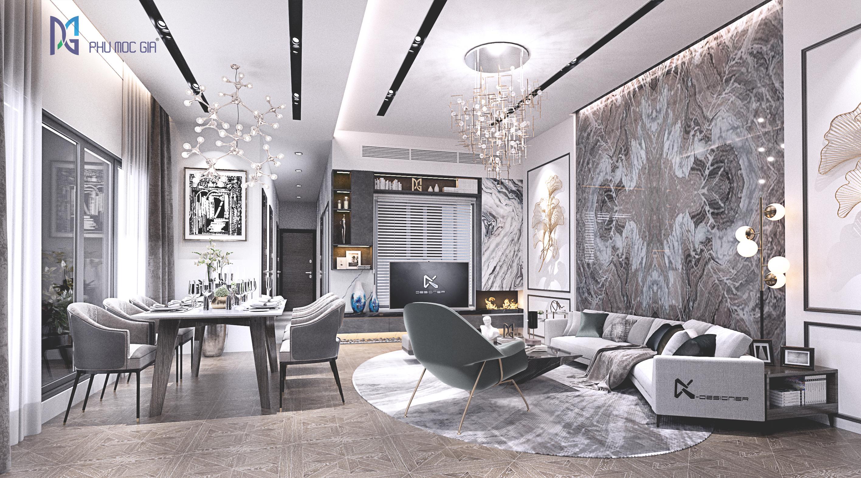 thiết kế nội thất Biệt Thự tại Đà Nẵng Sky Villa 1 1563984677
