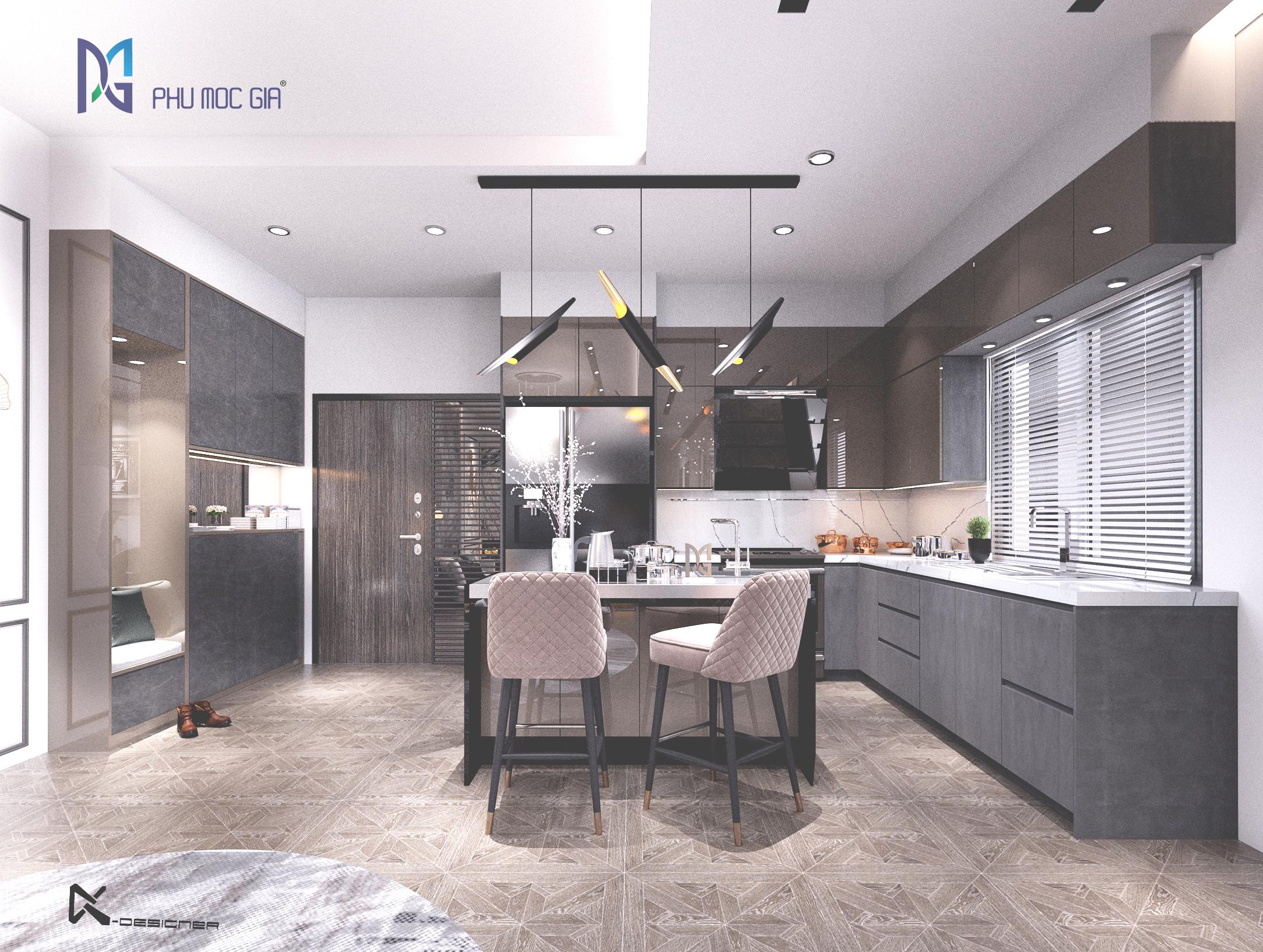 thiết kế nội thất Biệt Thự tại Đà Nẵng Sky Villa 2 1563984675