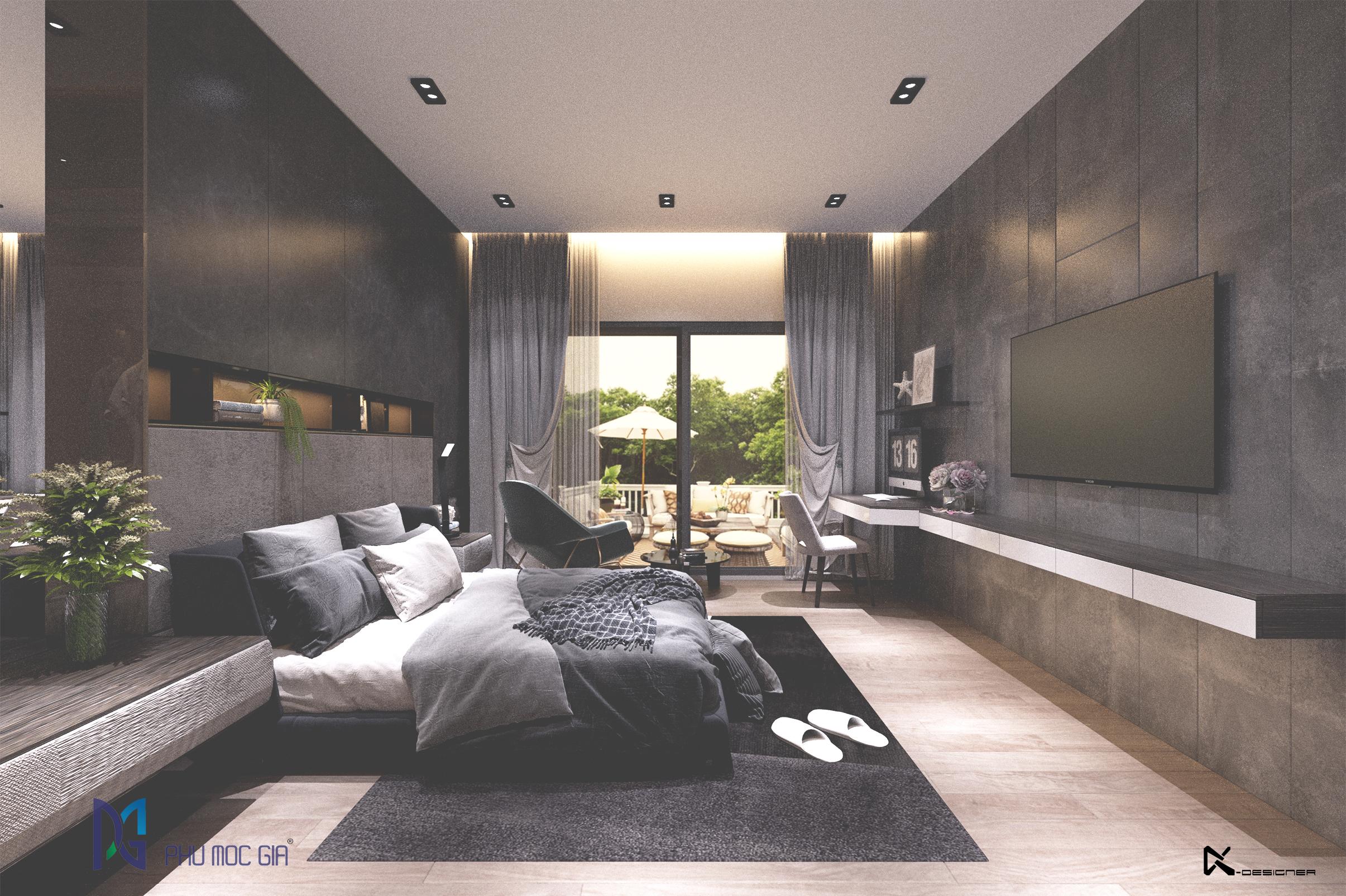 thiết kế nội thất Biệt Thự tại Đà Nẵng Sky Villa 4 1563984677