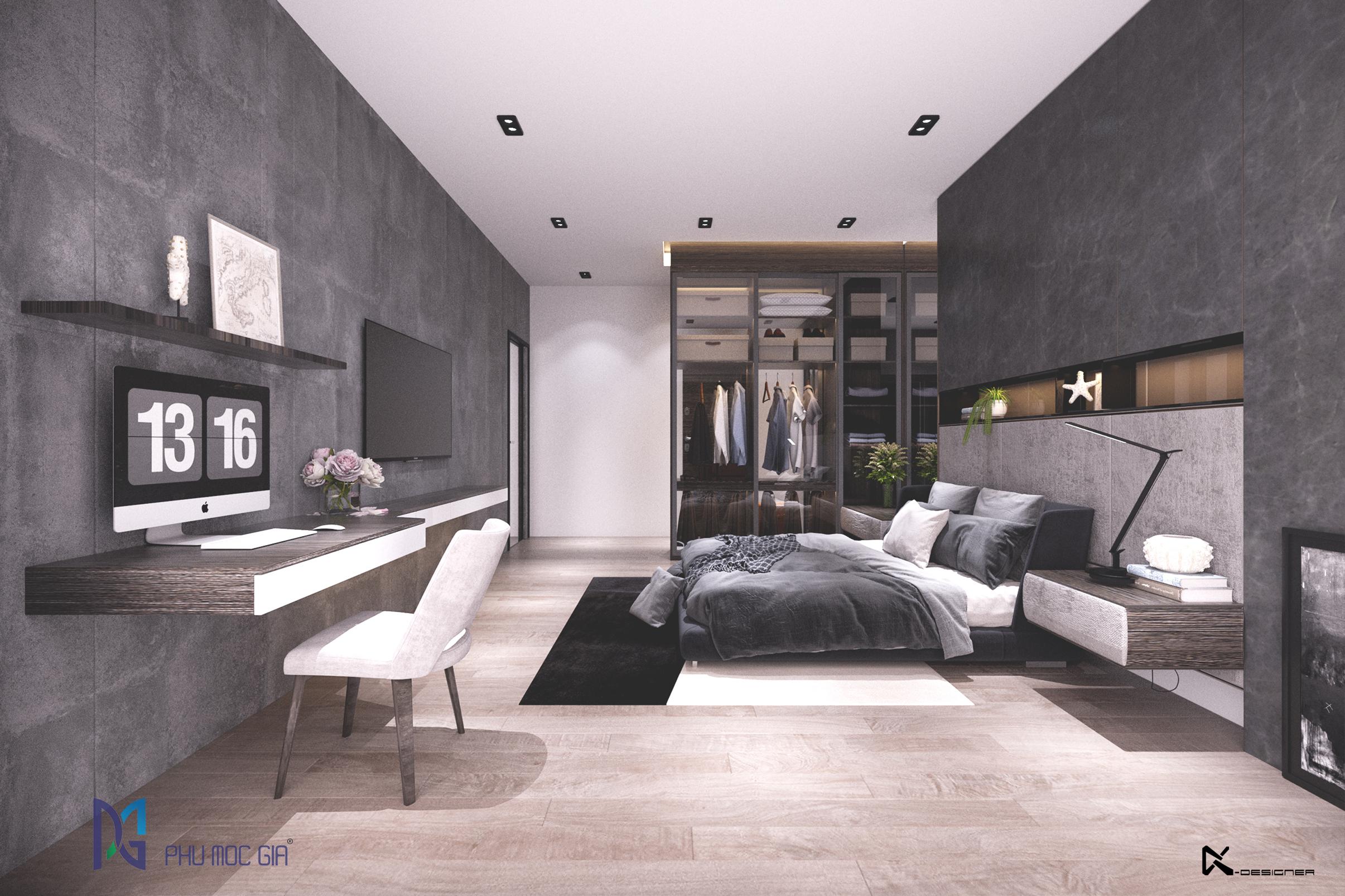 thiết kế nội thất Biệt Thự tại Đà Nẵng Sky Villa 5 1563984677