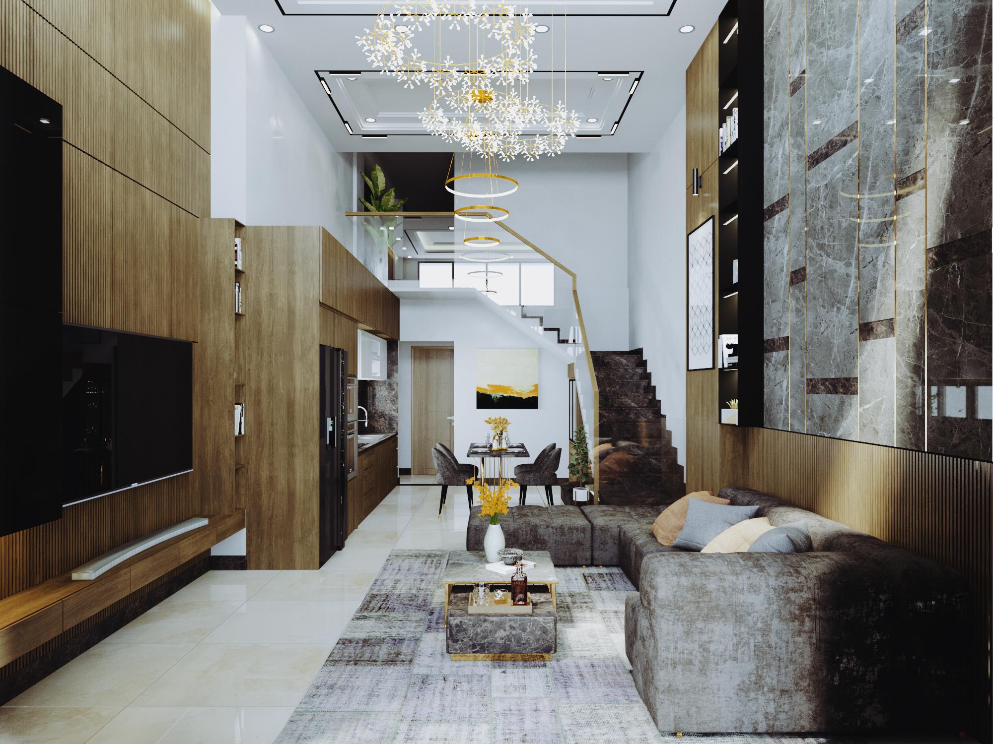 Thiết kế nội thất Nhà Mặt Phố tại Đà Nẵng Nội thất nhà phố 1591588812 0