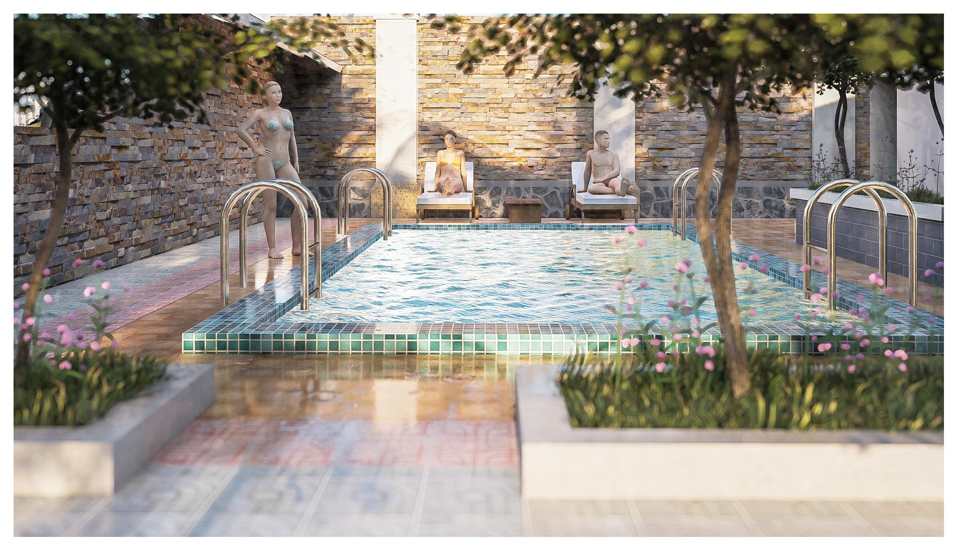 thiết kế Resort Khu Nhà Ở Dòng Họ01