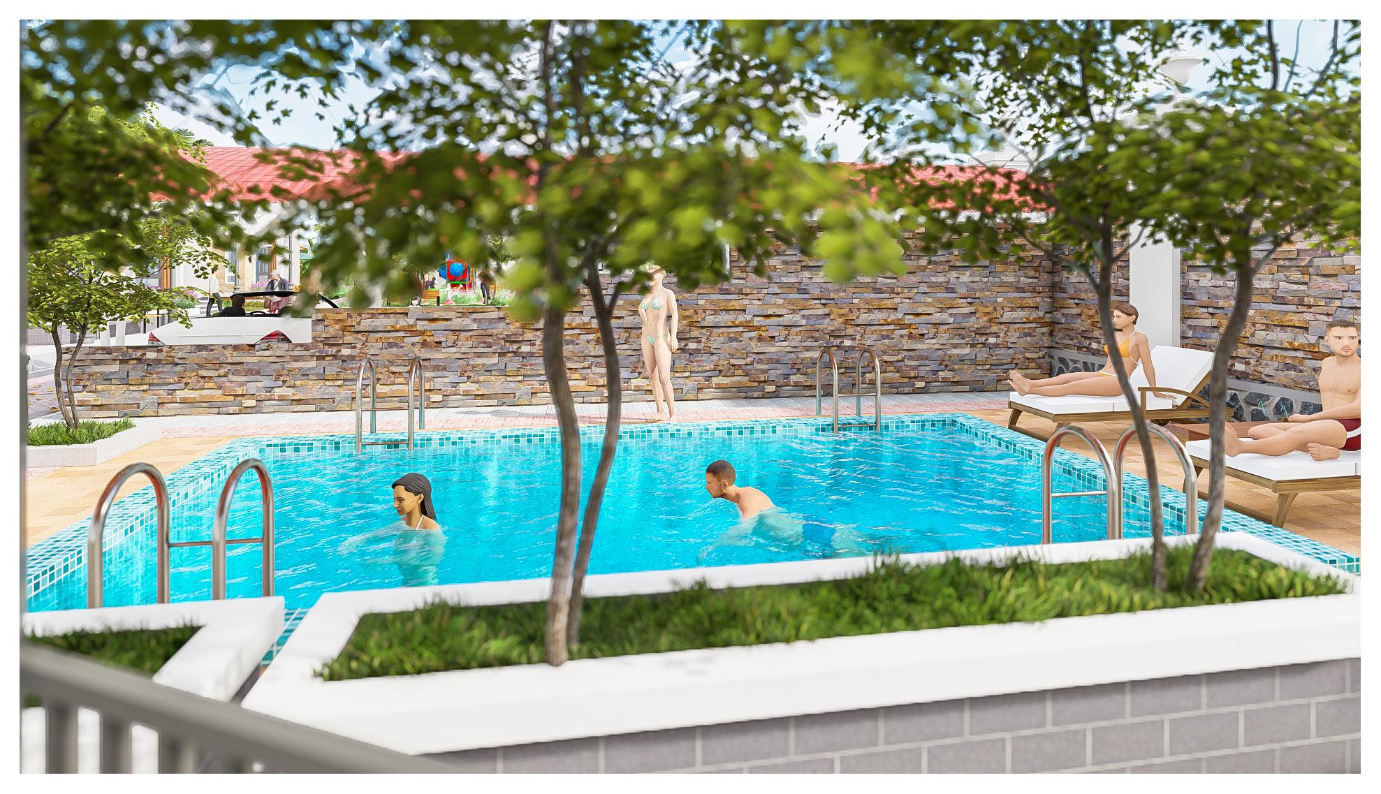 thiết kế Resort Khu Nhà Ở Dòng Họ1210