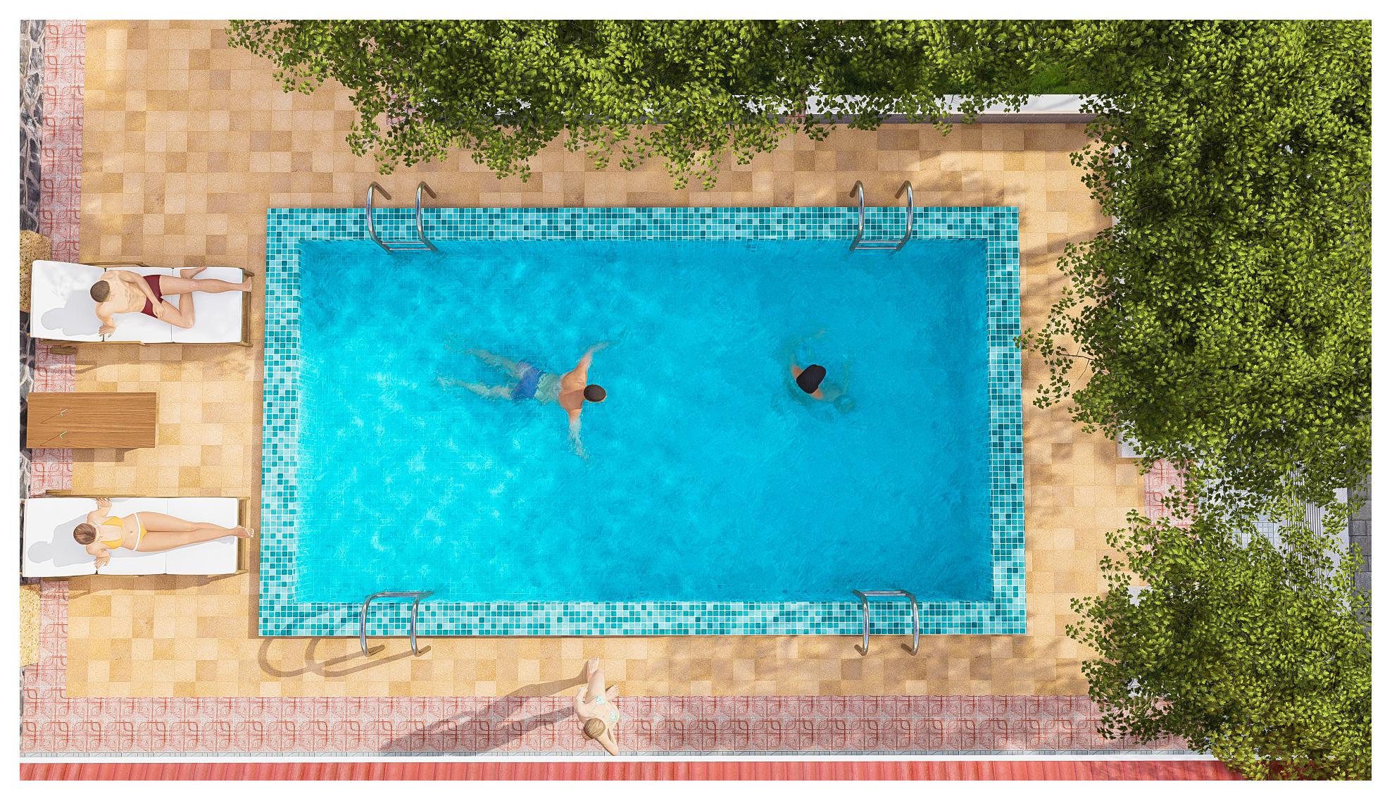 thiết kế Resort Khu Nhà Ở Dòng Họ21