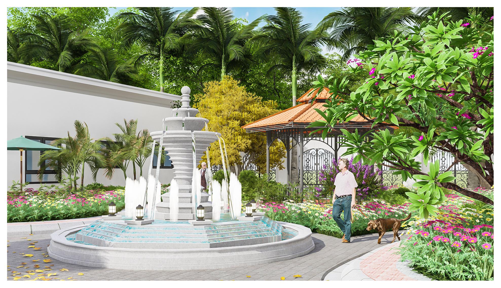 thiết kế Resort Khu Nhà Ở Dòng Họ32