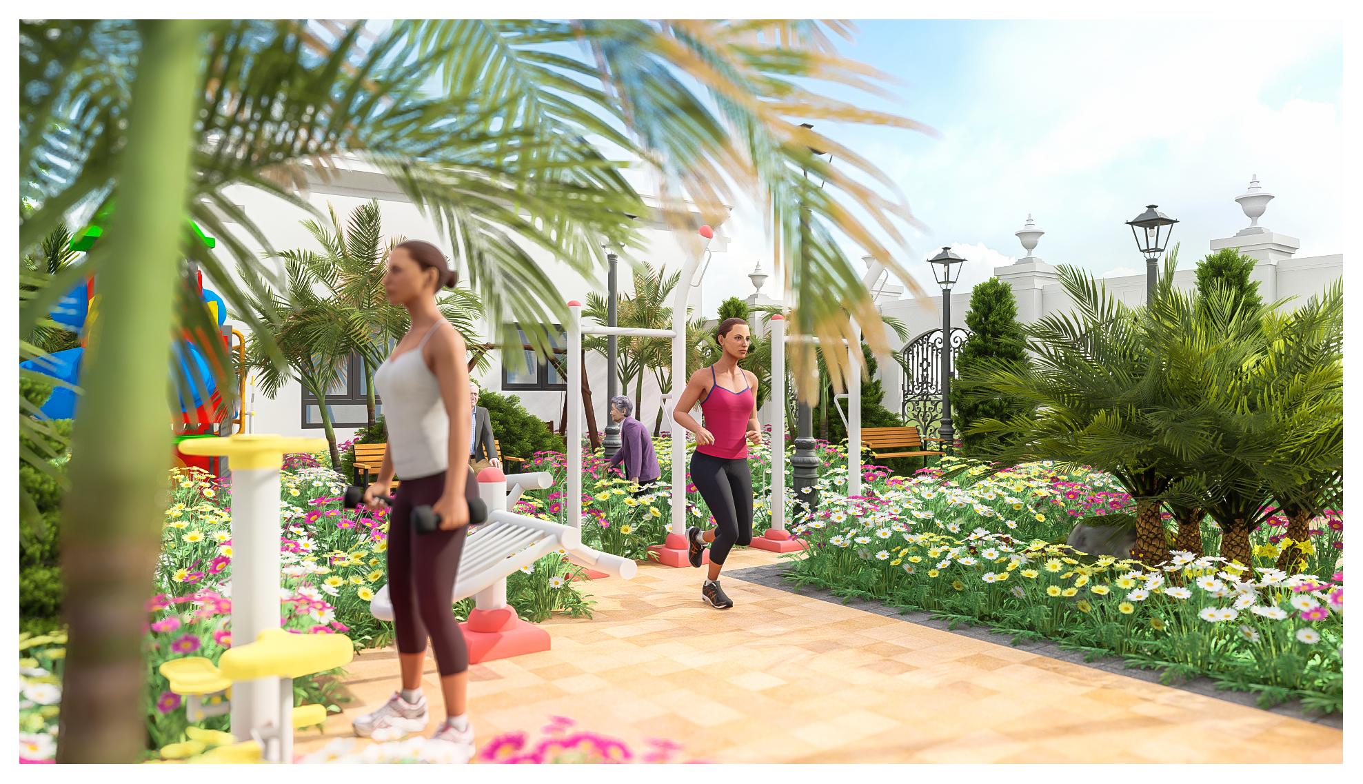 thiết kế Resort Khu Nhà Ở Dòng Họ168