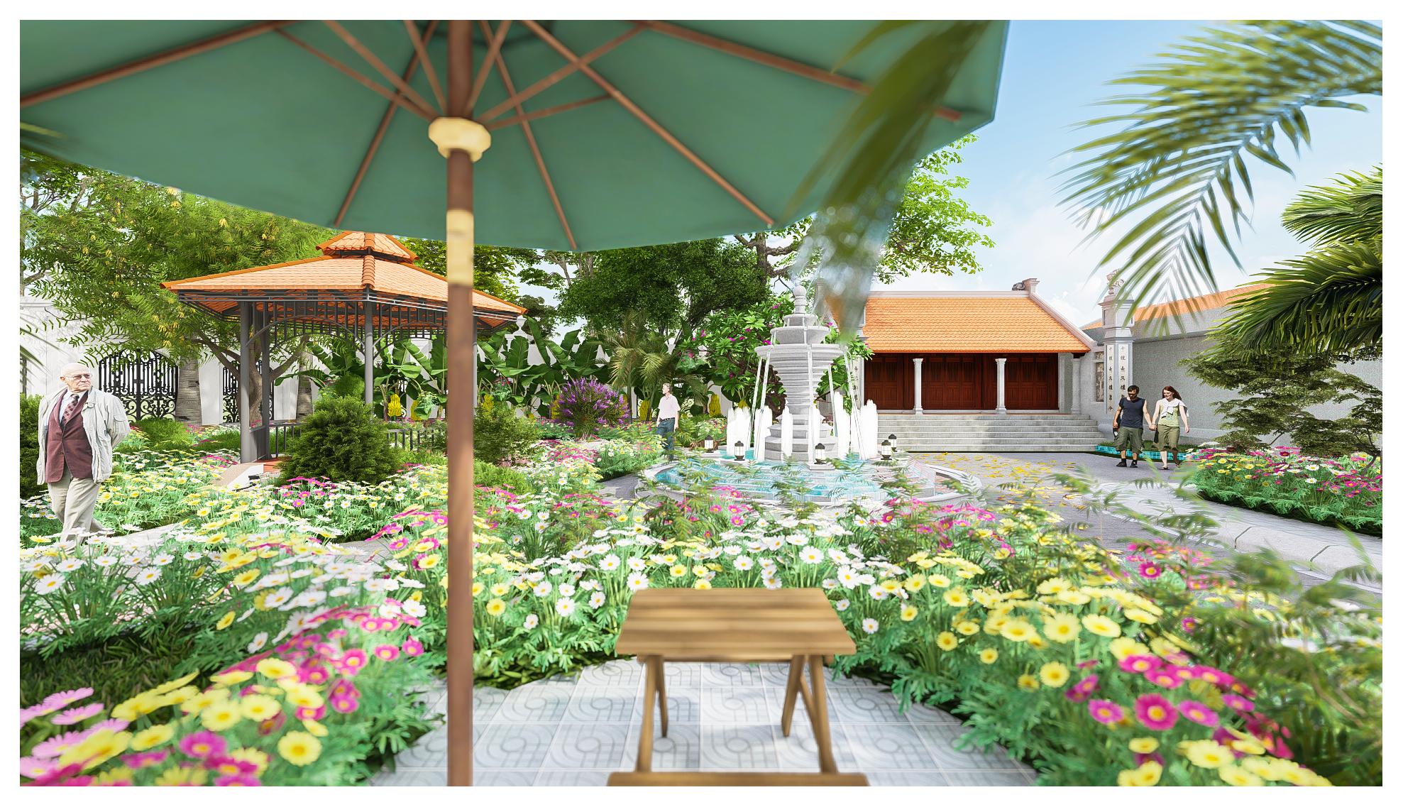 thiết kế Resort Khu Nhà Ở Dòng Họ187