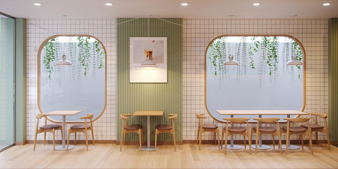 Thiết kế nội thất Cafe tại Hồ Chí Minh Coffee Caramela 1574832885 2