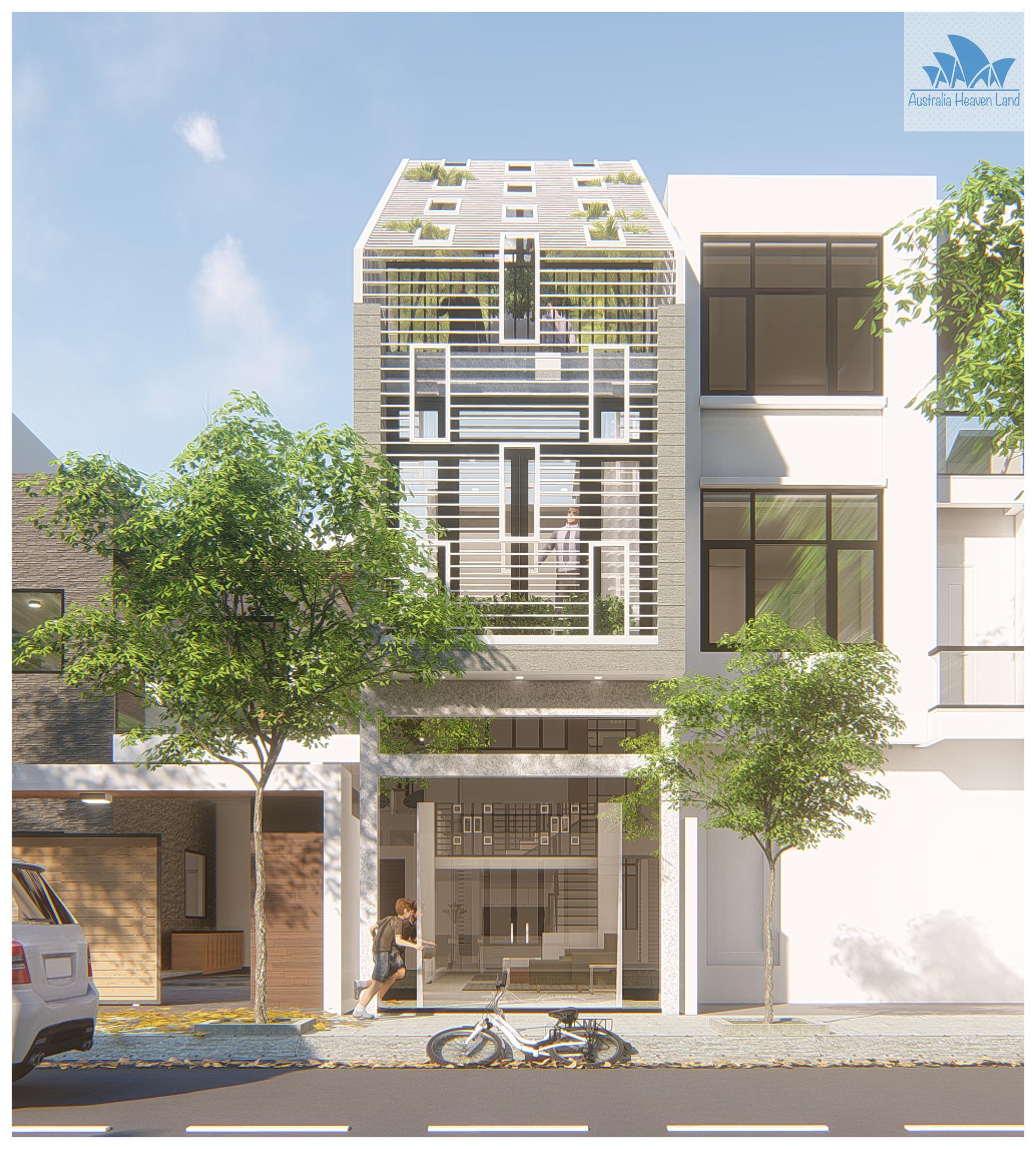 Thiết kế Nhà Mặt Phố tại Hồ Chí Minh 211 TQD 1597654088 0
