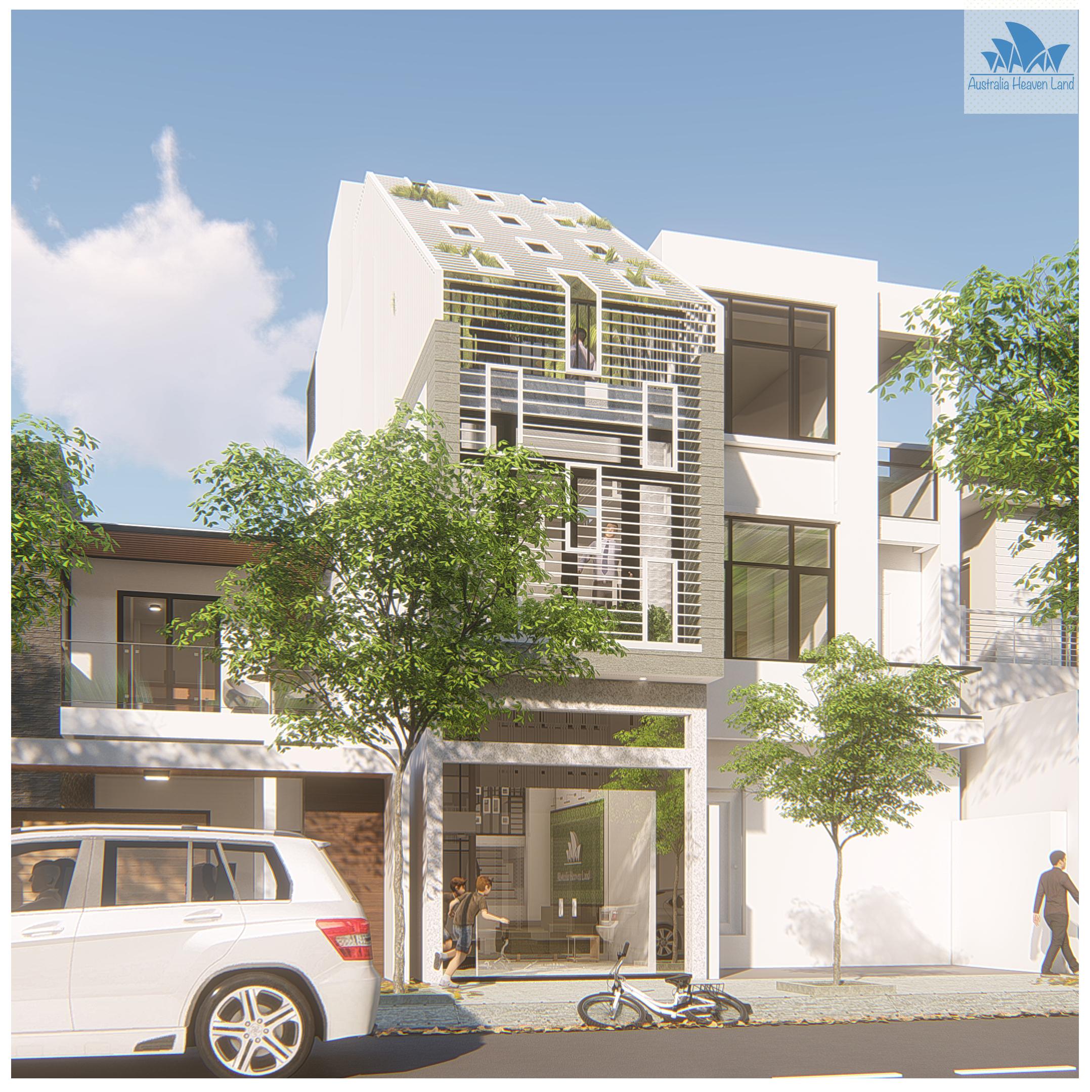 Thiết kế Nhà Mặt Phố tại Hồ Chí Minh 211 TQD 1597654092 1