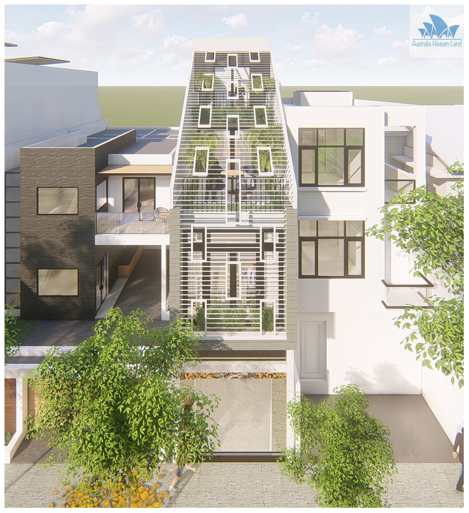 Thiết kế Nhà Mặt Phố tại Hồ Chí Minh 211 TQD 1597654092 3