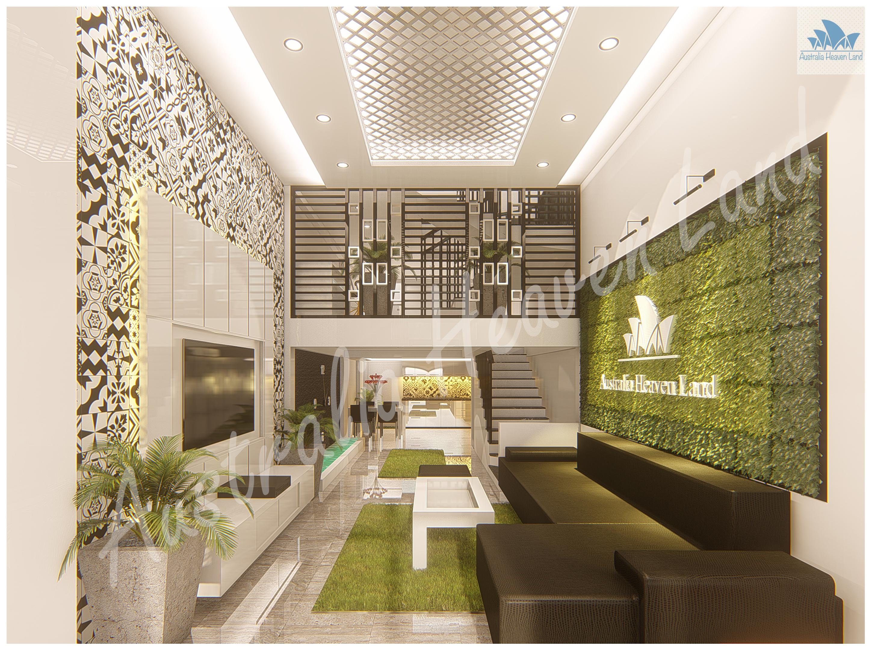 Thiết kế Nhà Mặt Phố tại Hồ Chí Minh 211 TQD 1597654093 4