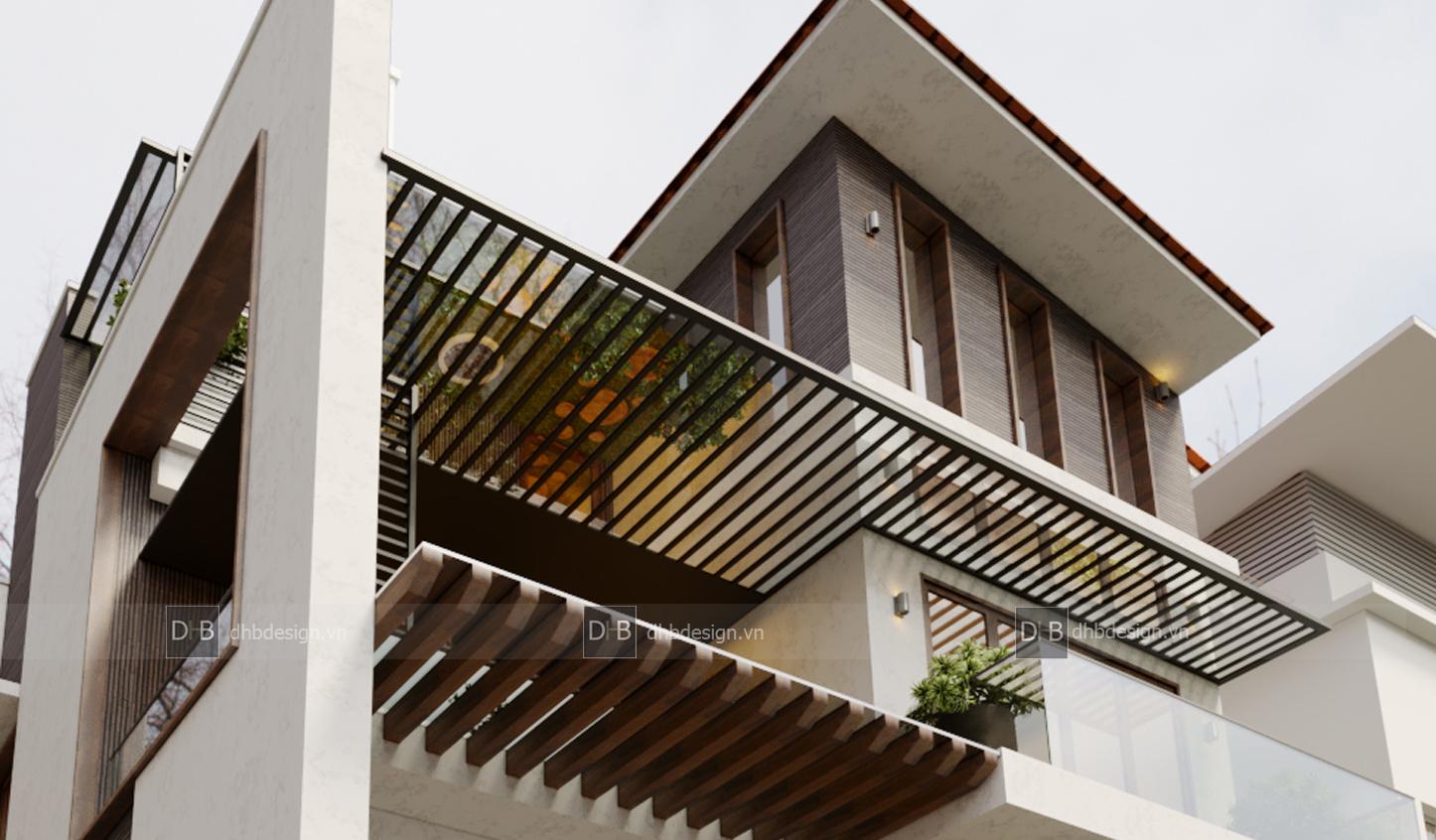 thiết kế Biệt Thự 3 tầng tại Hà Nội Biệt Thự Phố 13 1553137928