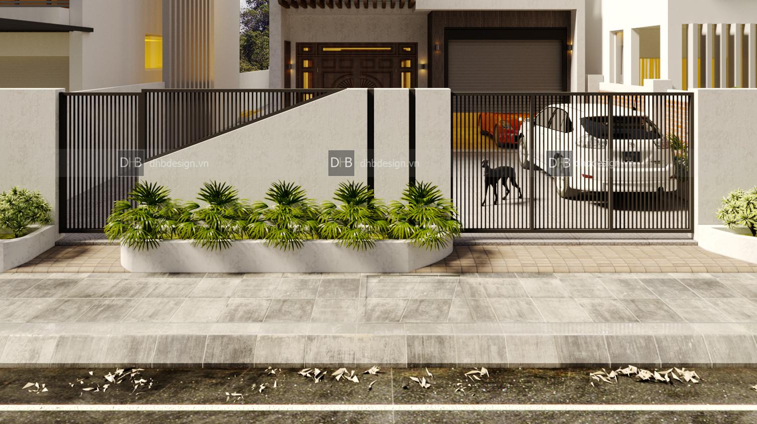 thiết kế Biệt Thự 3 tầng tại Hà Nội Biệt Thự Phố 3 1553137925