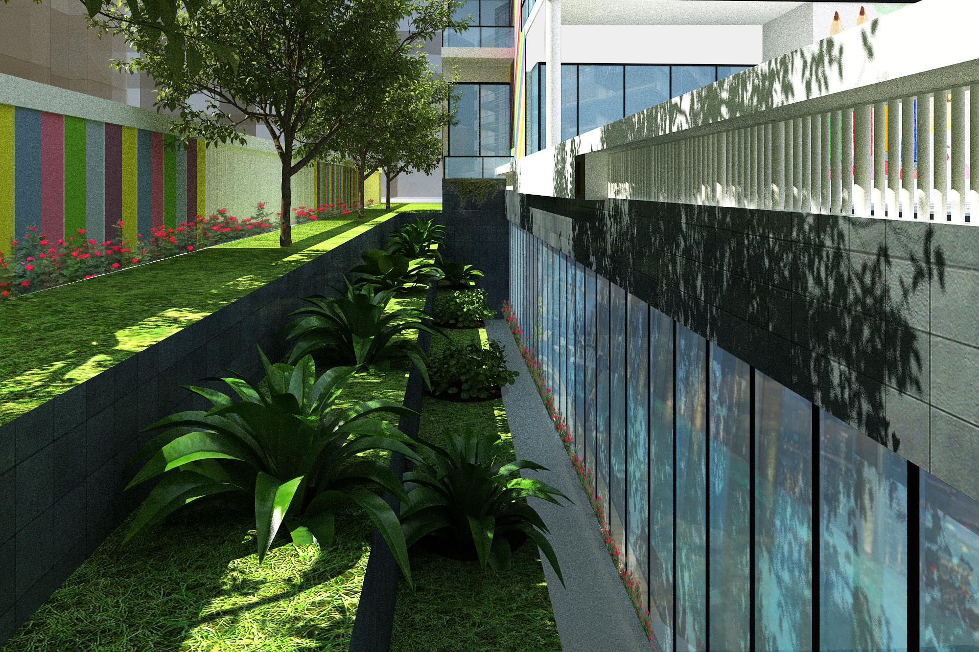 Thiết kế Công Trình Công Cộng tại Hà Nội trường mầm non Việt Nhật 1625212944 4