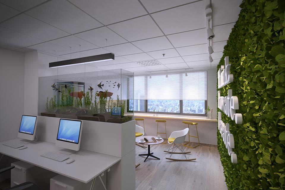 thiết kế nội thất Văn Phòng tại Hà Nội Insight Studio Office 1 1532313914