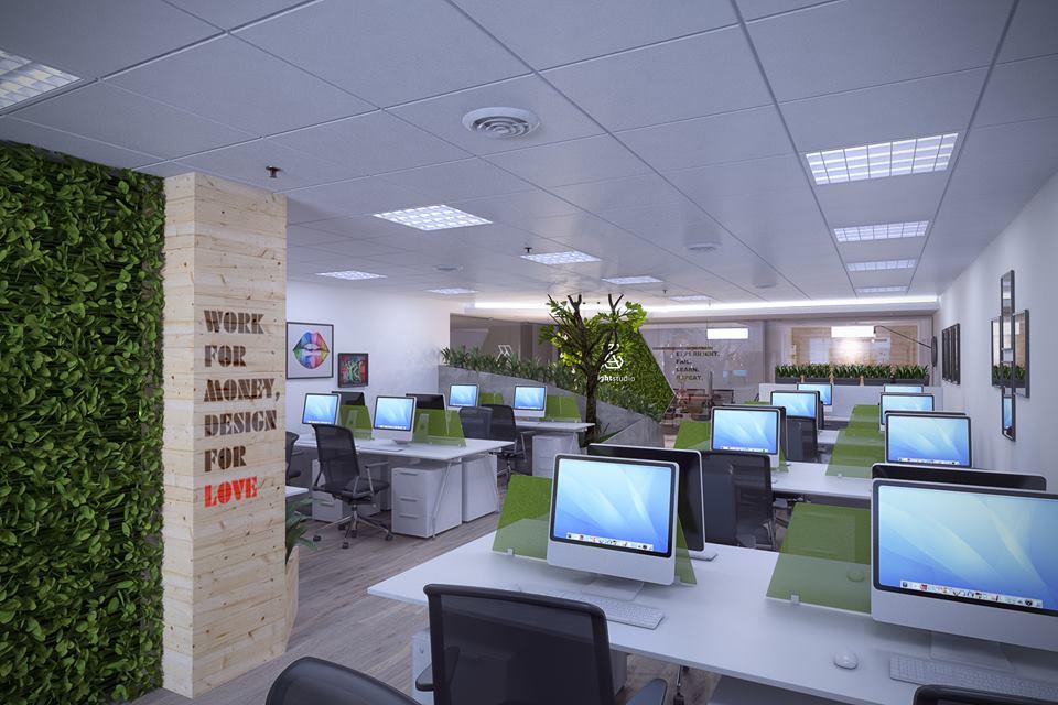 thiết kế nội thất Văn Phòng tại Hà Nội Insight Studio Office 4 1532313918