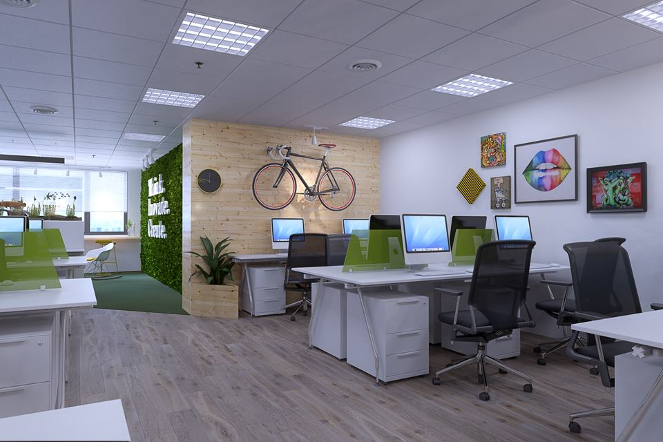 thiết kế nội thất Văn Phòng tại Hà Nội Insight Studio Office 7 1532313915